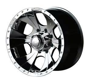 Detroit Wheels 165-6885P - Ion Bargain Wheels