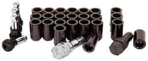 Detroit Wheels 5645BLK - Mr. Lugnut TunerLug Nuts & Installation Kits