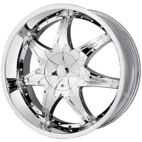 Detroit Wheels D15-26954C - Dip D15 Libra Series Chrome Wheels