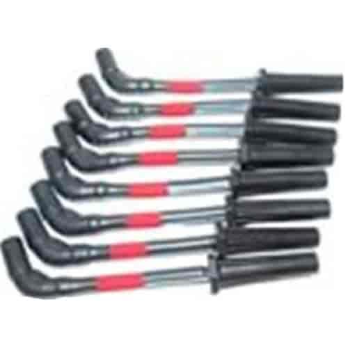 314-c9lsrd Racing Plug Wires on under header spark, zip tie spark, old spark, ls3 spark, taylor 8mm,