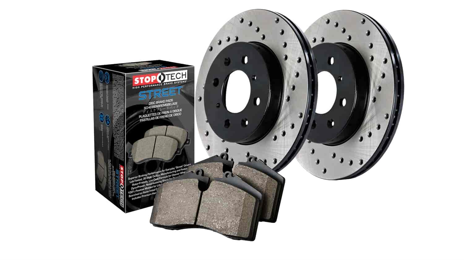 Stoptech 936 65033 street axle pack jegs for 65033