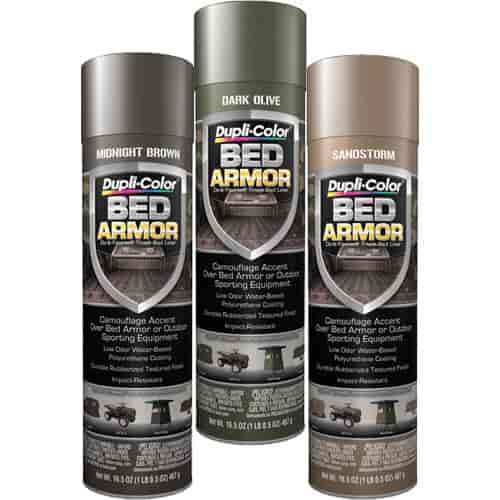 Duplicolor CAMOARMOR Bed Armor Camo Kit Includes 165oz