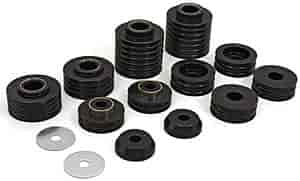 Daystar KC04002BK - Daystar Cab & Body Mount Bushing Kits