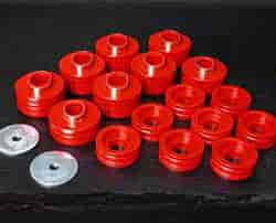 Daystar KF04014RE - Daystar Cab & Body Mount Bushing Kits