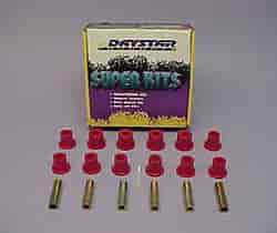 Daystar KG02316BK - Daystar Spring and Shackle Bushings