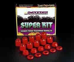 Daystar KG04007RE - Daystar Cab & Body Mount Bushing Kits