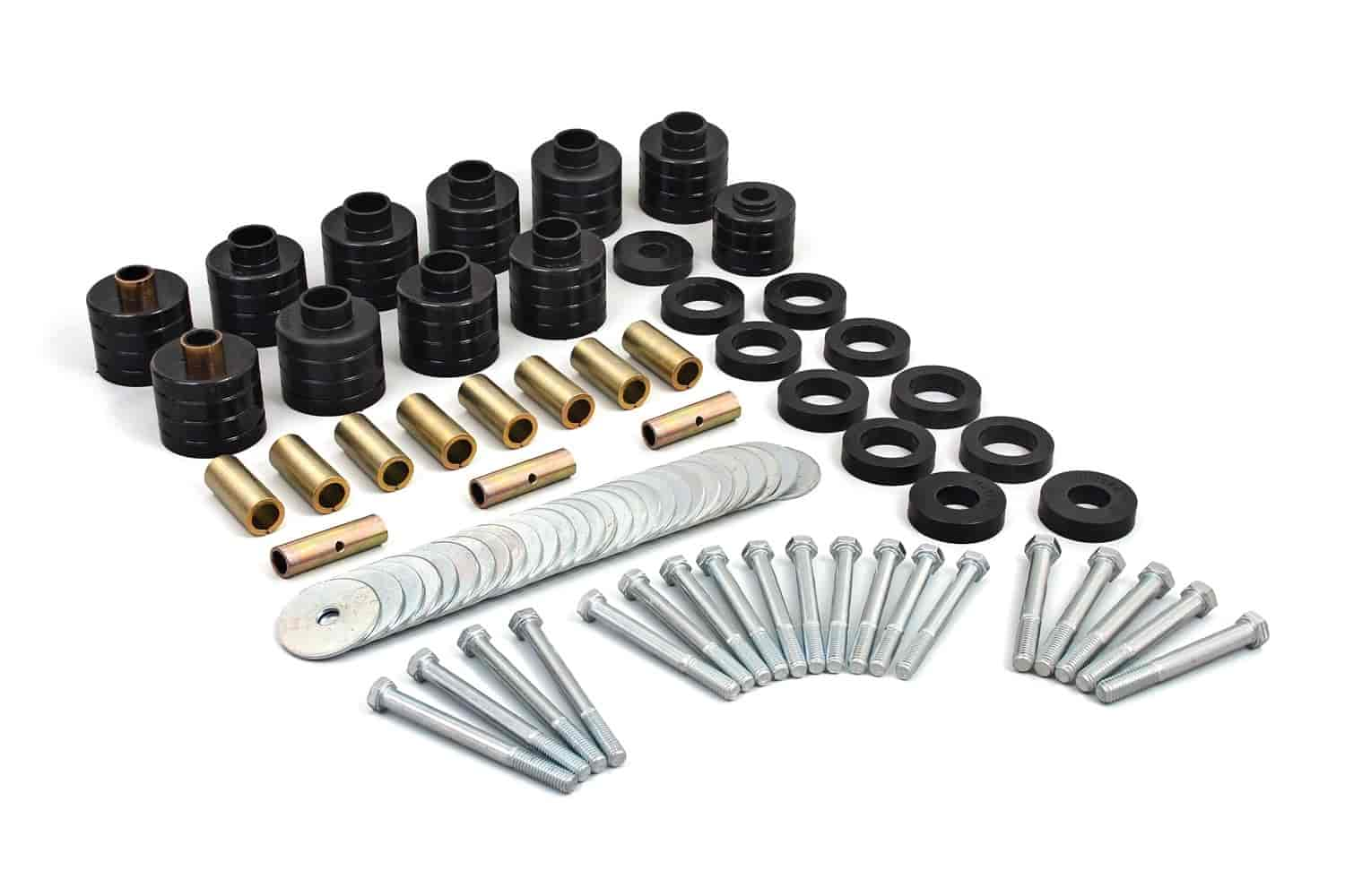 Daystar KJ04502BK - Daystar Body Mount Bushing Kits