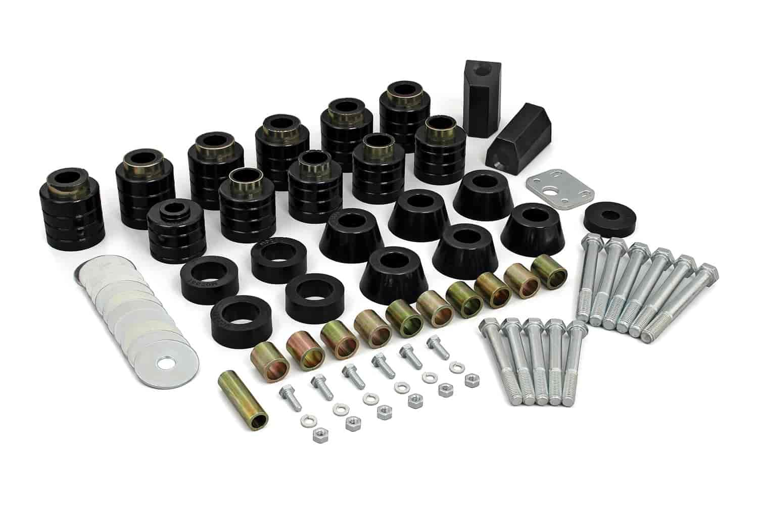 Daystar KJ04505BK - Daystar Body Mount Bushing Kits