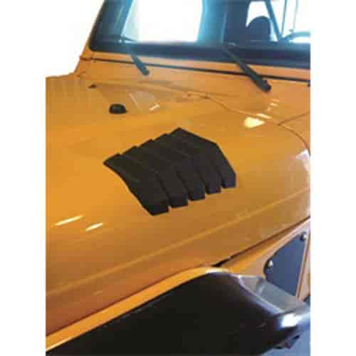 Daystar KJ71042BK - Daystar Jeep Hood Vents & Accessories
