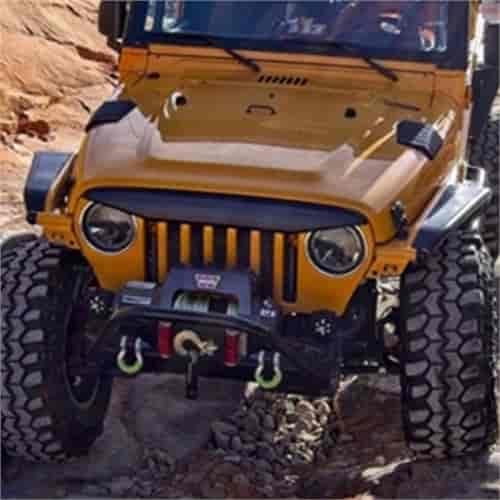 [DIAGRAM_1CA]  Daystar KJ73000BK: Angry Eyebrow for 1997-2006 Jeep Wrangler TJ/LJ  2-Door/Unlimited | JEGS | 2006 Jeep Wrangler Hood |  | Jegs