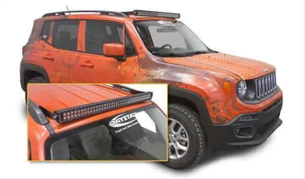 Led Lights Jeep Renegade: Daystar KJ81000BK: LED Light Bar Kit 2015-16 Renegade With