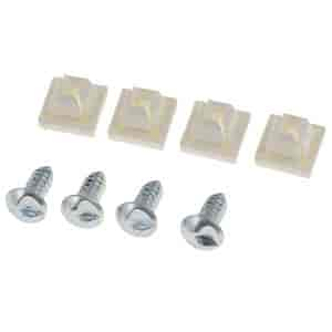 Dorman Products 49258 - Dorman License Plate Frames, Brackets & Screws