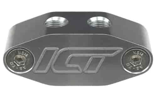 ICT Billet LS Swap Gauge Sensor Adapter for Oil Pressure