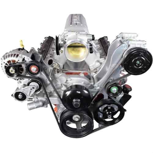 Ac Compressor Brackets Diagram For A 1978 Corvette
