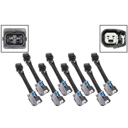 ICT Billet Fuel Injector Wiring Harness Adapter Set