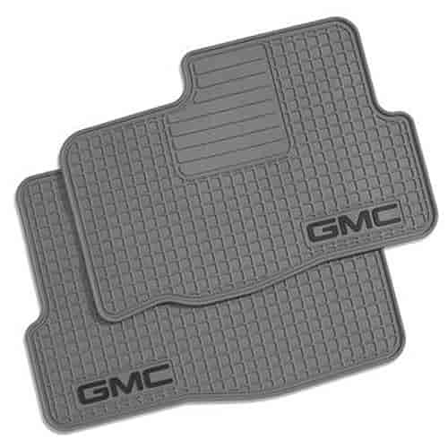 gmc acadia floor sierra denali yukon divertong accessories mats