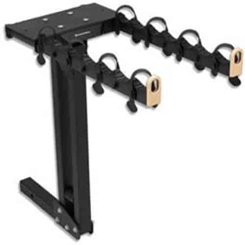 GM Accessories 12499718 Trailer Hitch Mounted Bicycle//Ski Carrier Top Plate
