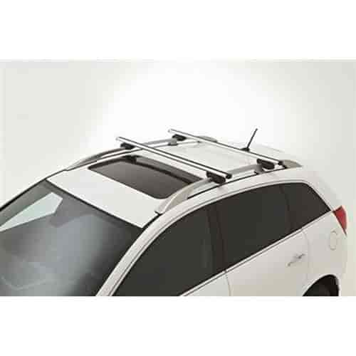 2012 Chevy Captiva Accessories: GM Accessories 93199897: Roof Rack Cross Rail Package 2012