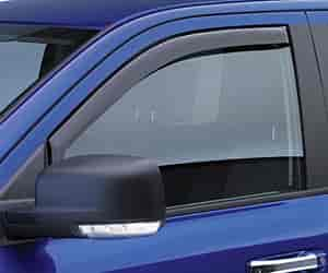 JEGS Performance Products 561021PL - JEGS In-Channel Side Window Visors