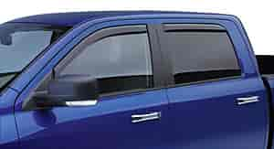 JEGS Performance Products 572451PL - JEGS In-Channel Side Window Visors