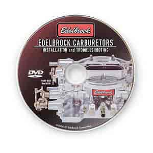 Edelbrock 0324 - Edelbrock Carburetors Installation and Troubleshooting DVD