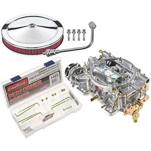 Edelbrock EPS Performer Series 800 CFM Electric Choke Carburetor Kit with  Calibration Kit