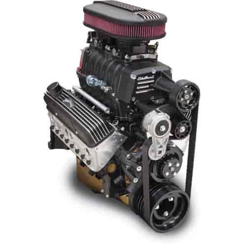Chevy Diesel Blower: Edelbrock 15203: E-Force Enforcer RPM EFI Black