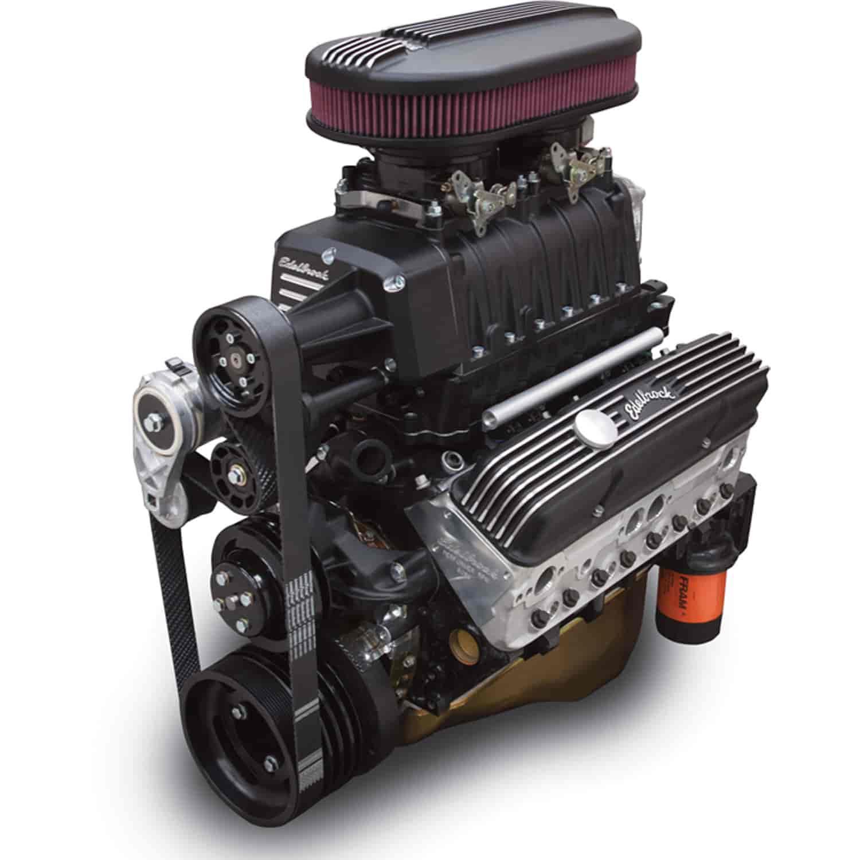 Chevy Diesel Blower: Edelbrock 15213: E-Force Enforcer RPM Complete EFI Black