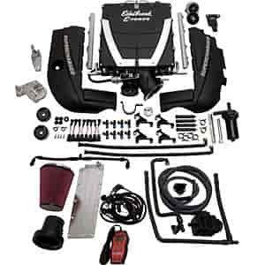 Edelbrock 1540 - Edelbrock E-Force Supercharger Kit Universal GM LS2/LS3/LS7 Engine