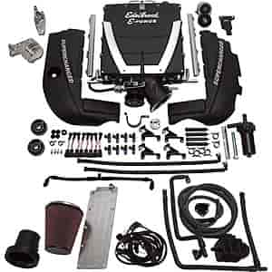 Edelbrock 15400 - Edelbrock E-Force Supercharger Kit Universal GM LS2/LS3/LS7 Engine