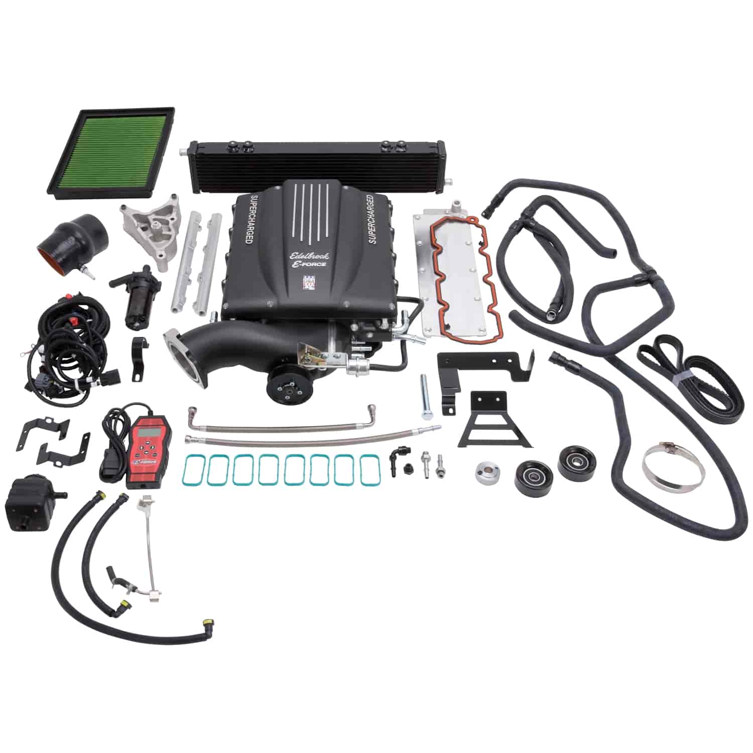 Edelbrock 1567 E Force Supercharger Kit 2007 2014 Gm Suv 62l Gen 1950 Cadillac Reproduction Wiring Harness