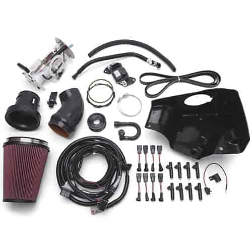 Ford Mustang Edelbrock Supercharger: Edelbrock 15802: E-Force Stage 2 Track System Supercharger