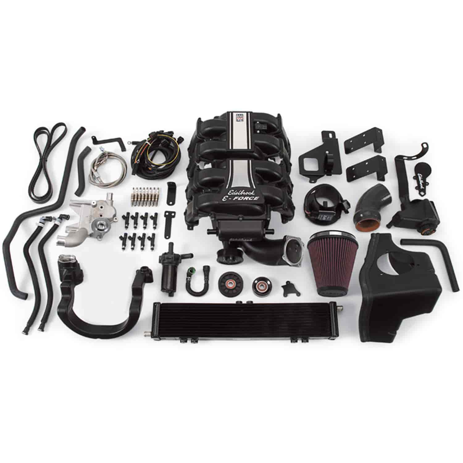 Edelbrock 15810 - Edelbrock E-Force Supercharger Kit For Ford F-150