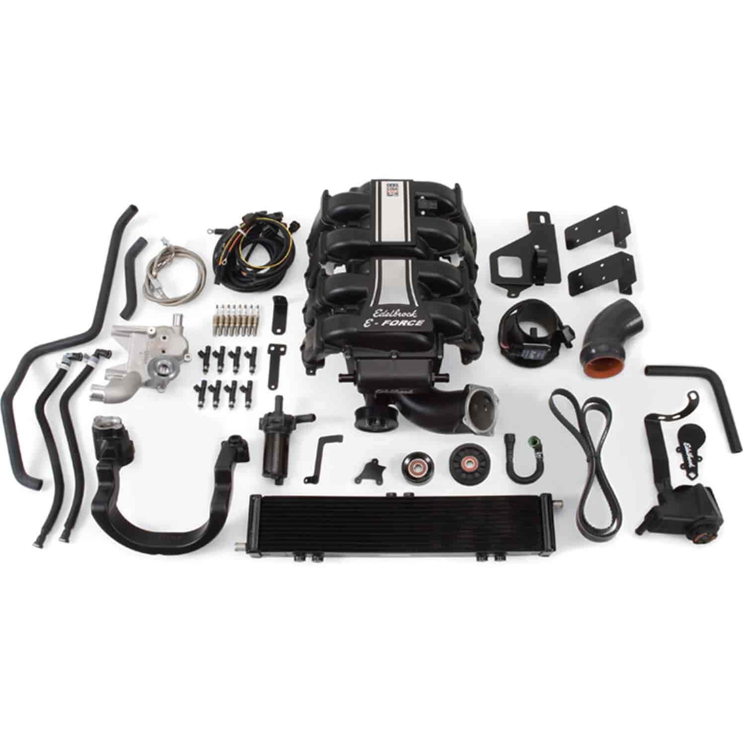 Edelbrock 15830 - Edelbrock E-Force Supercharger Kit For Ford F-150