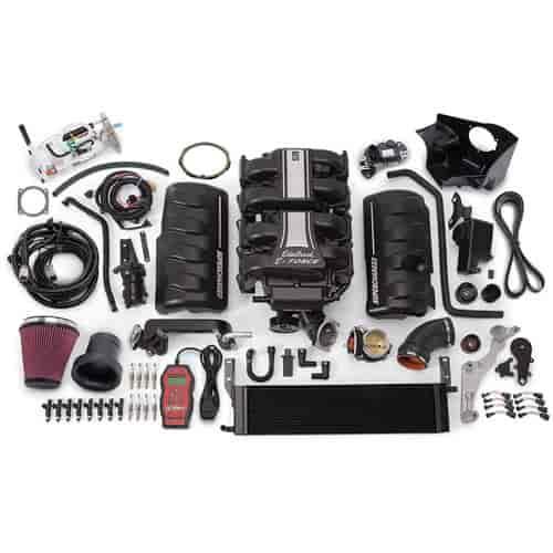 Ford Mustang Edelbrock Supercharger: Edelbrock 15856: E-Force Stage 2 Track System Supercharger