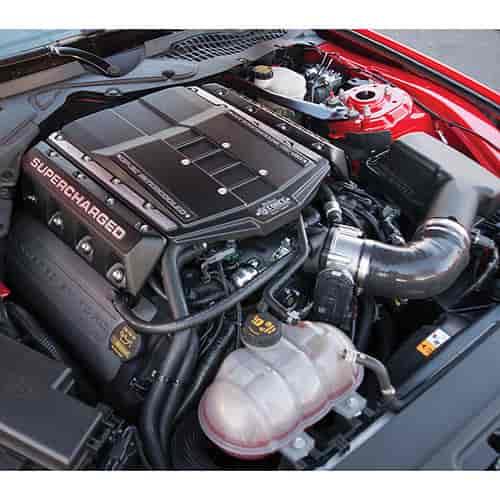 Ford Mustang Edelbrock Supercharger: Edelbrock 1586: E-Force Stage 1 Supercharger System 2015