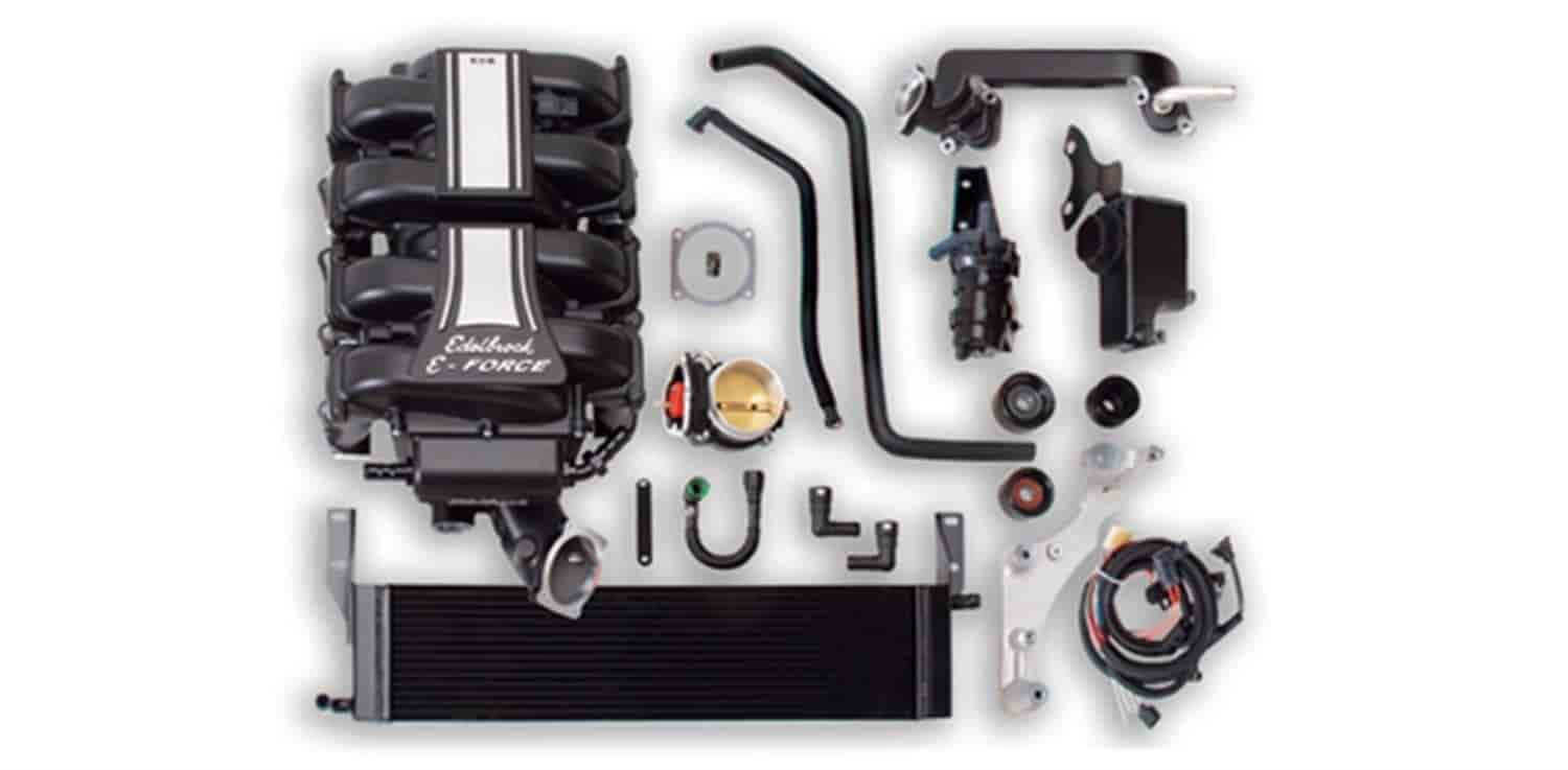 Edelbrock 1589 - Edelbrock E-Force Supercharger Kit 2011-13 5.0L Mustang
