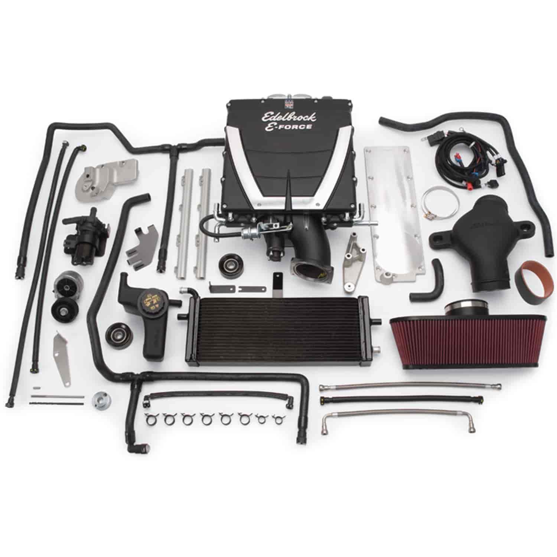 Ls2 Engine Plate: Edelbrock 1592 E-Force Stage-3 Supercharger Kit 2008-12