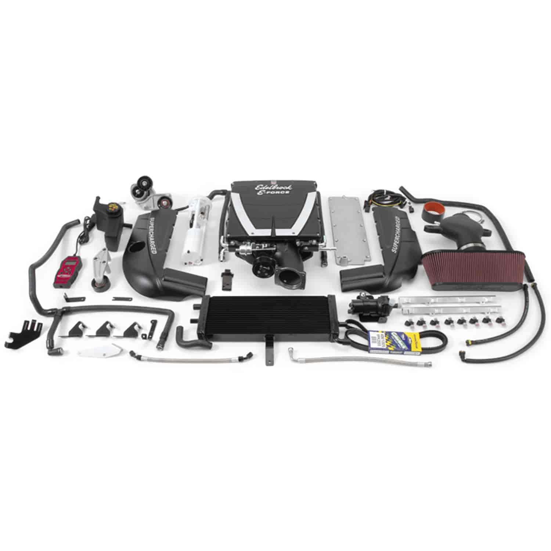 Edelbrock 1594 E Force Stage 2 Supercharger Kit for 2005 2007
