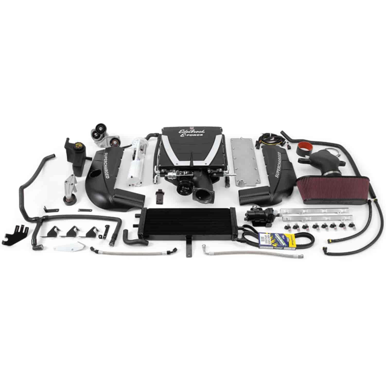 Ls2 Supercharger: Edelbrock 15940: E-Force Stage 2 Supercharger Kit For 2005