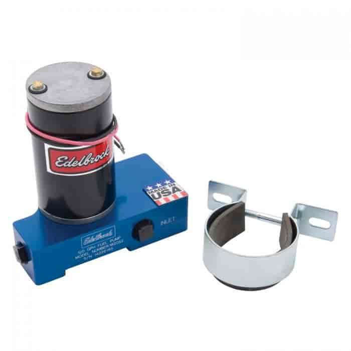 Edelbrock 182052 Quiet Flo Electric Fuel Pump 120 Gph In