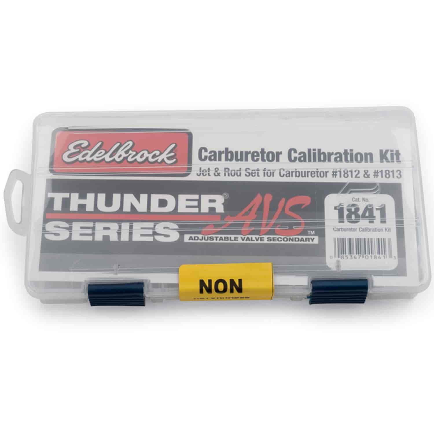 Edelbrock 1841 - Edelbrock Carburetor Calibration Kits