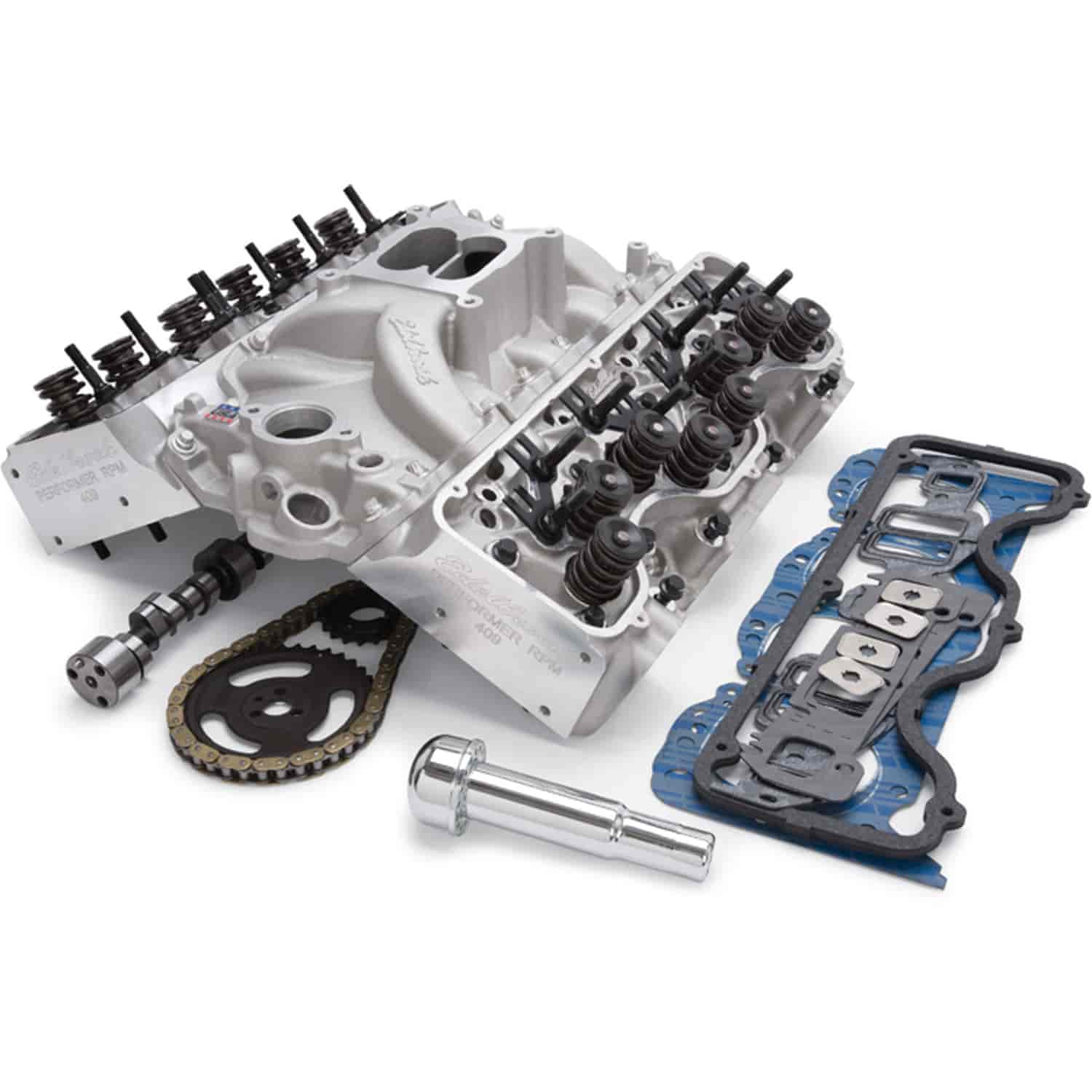 Edelbrock RPM Power Package Top End Kit for 1961-1965 Big Block Chevy  W-Series 348/409