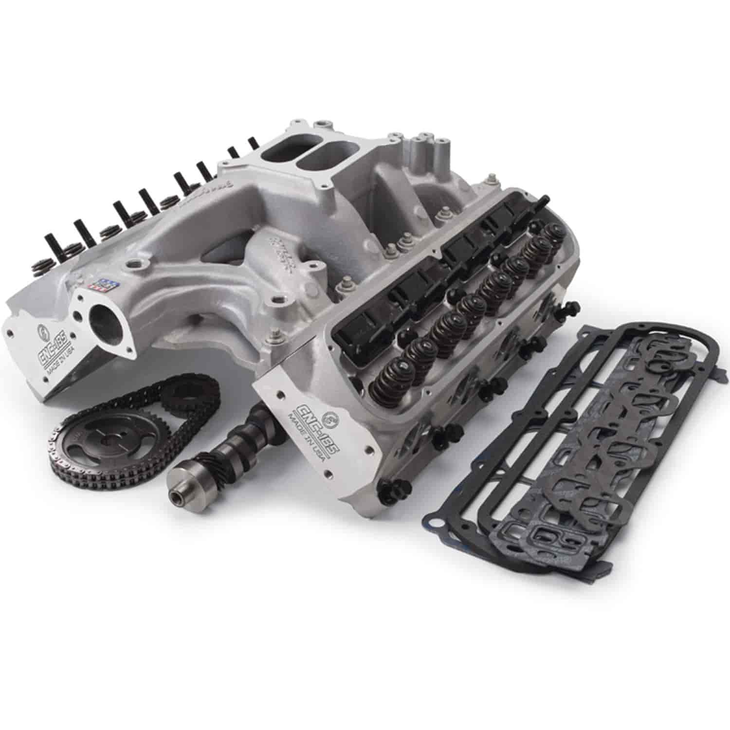 Edelbrock 2019 Rpm Power Package Top End Kit Small Block: Edelbrock 2090 RPM Power Package Top End Kit 1969-95 Small