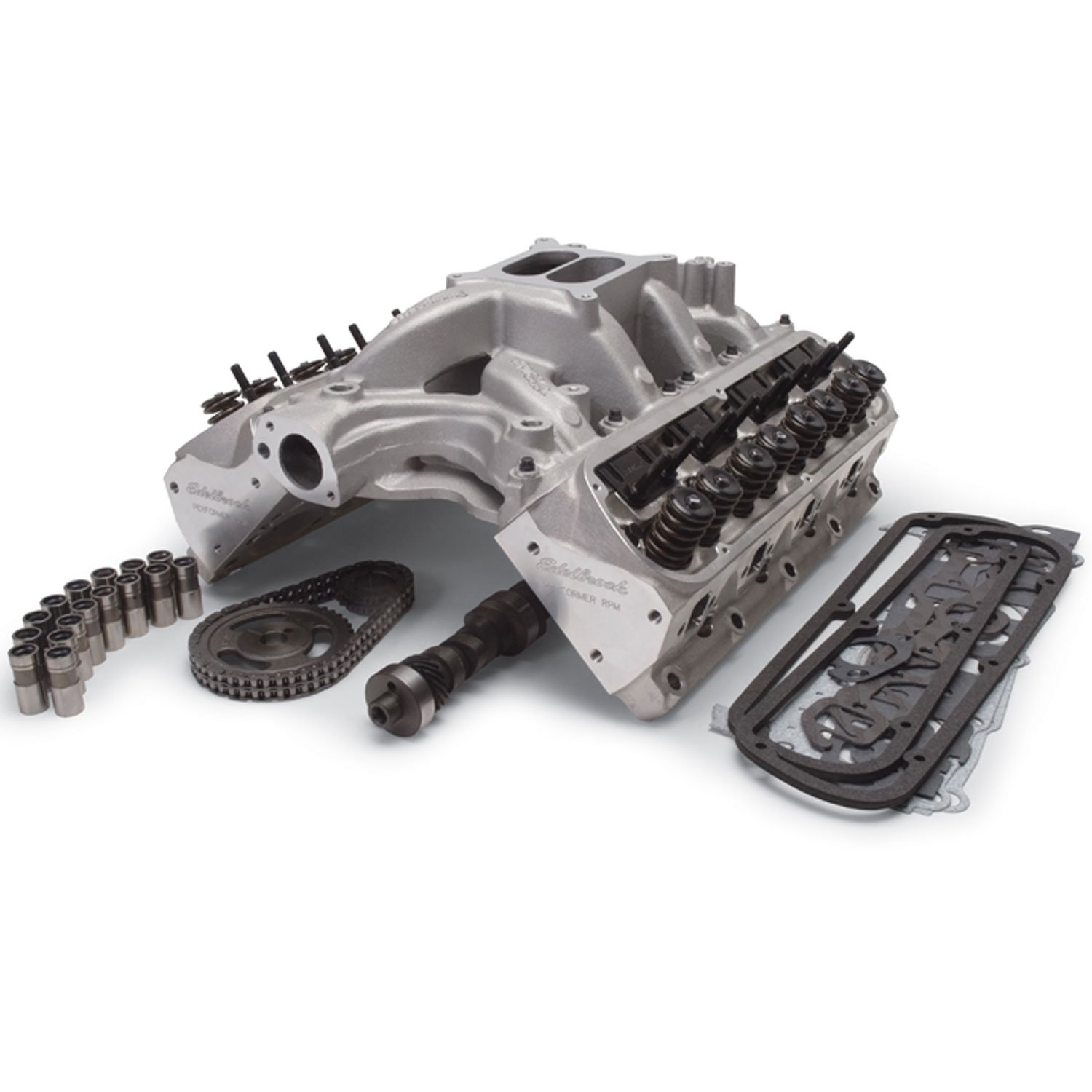 Edelbrock 2019 Rpm Power Package Top End Kit Small Block: Edelbrock 2092: RPM Power Package Top End Kit For 1969