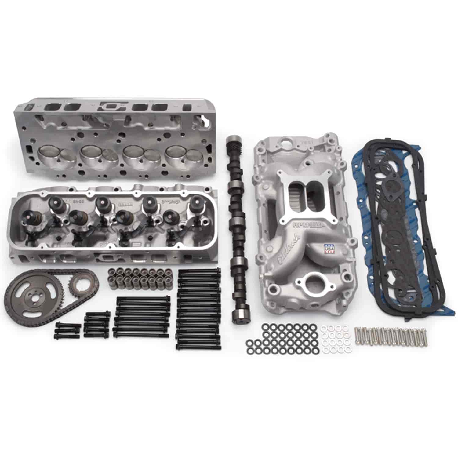 Edelbrock RPM Power Package Top End Kit for 1965-1995 Big Block Chevy  396-454