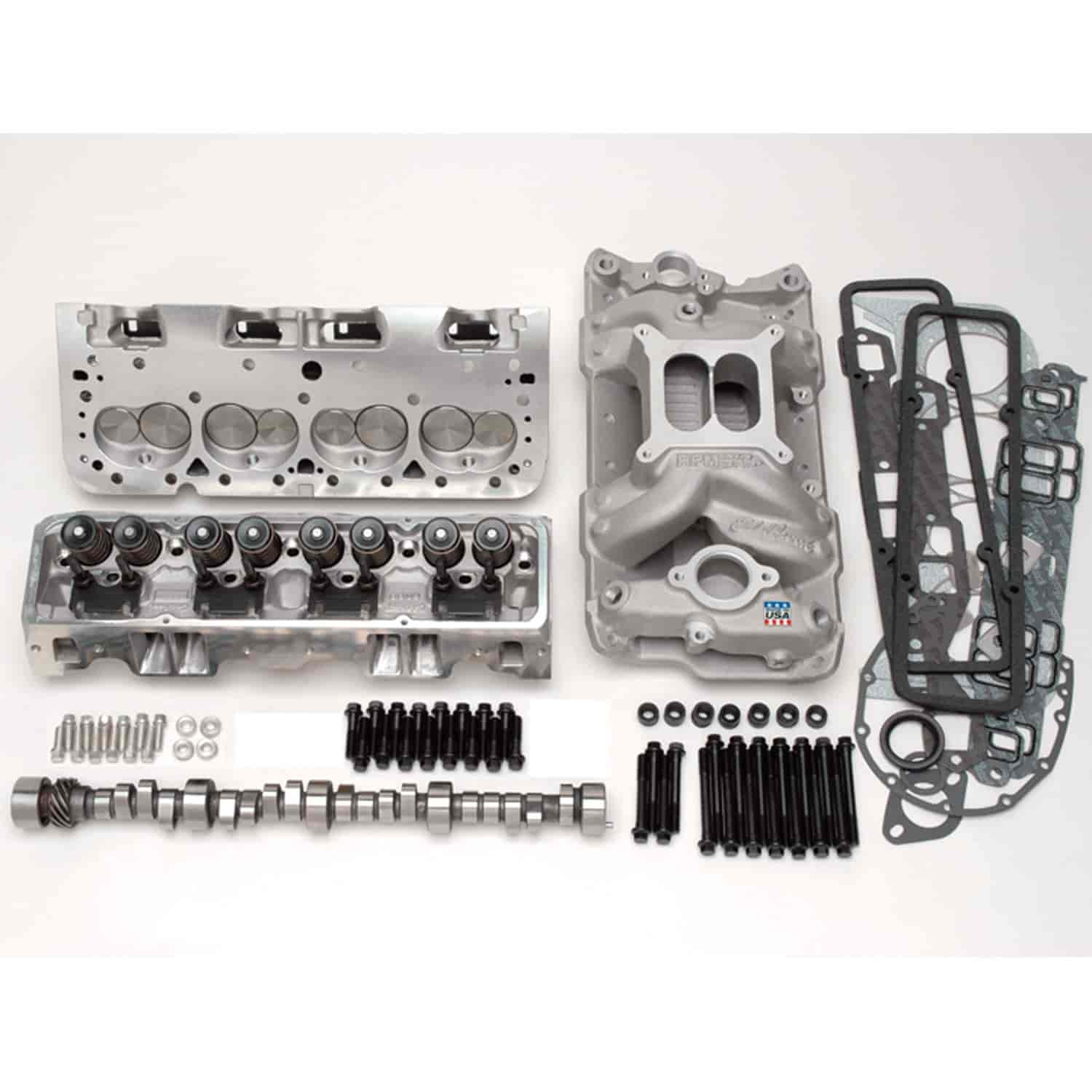 Edelbrock RPM Power Package Kit for 1957-1986 Small Block Chevy 383-427