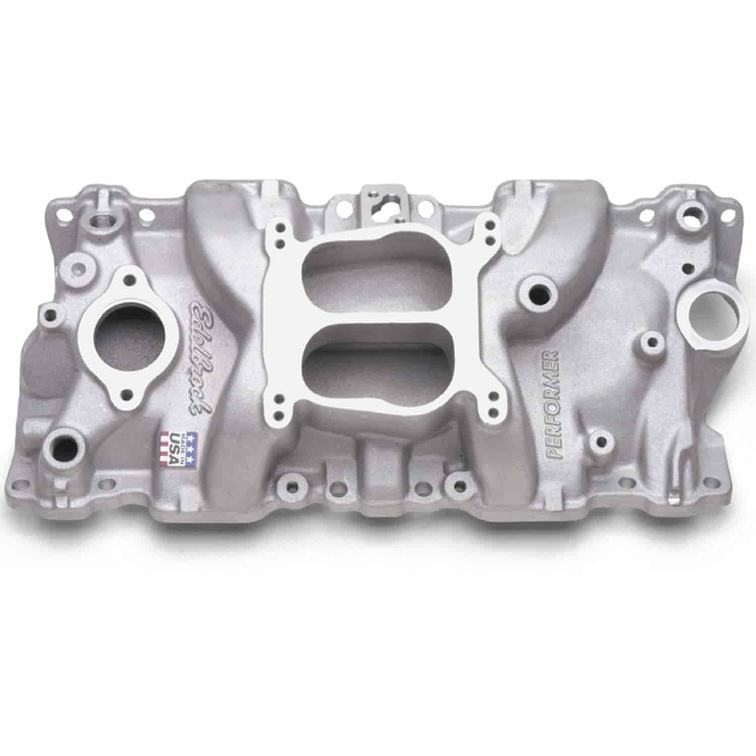 Edelbrock 2104 - Edelbrock Performer Intake Manifolds for Chevy