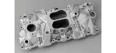 Edelbrock 21041 - Edelbrock Performer Intake Manifolds for Chevy