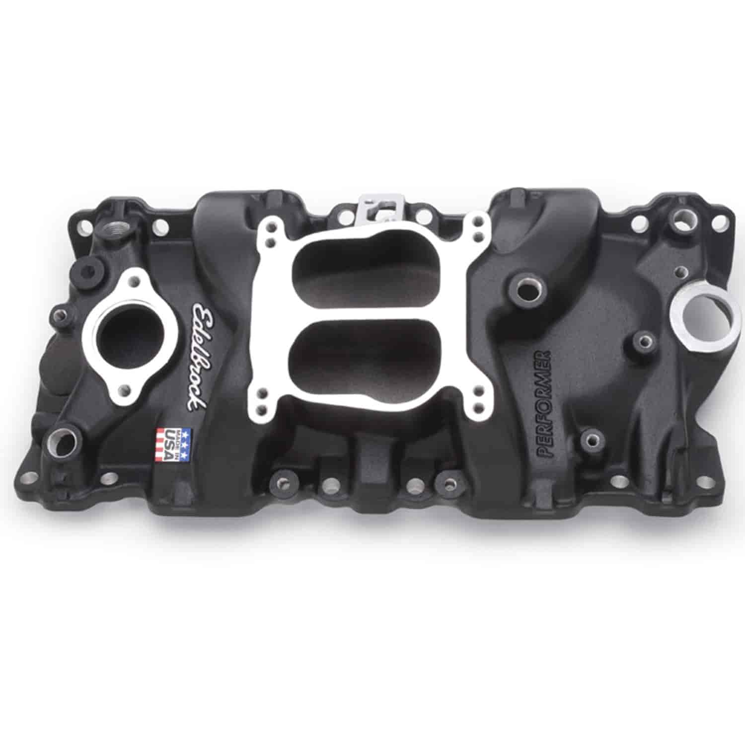 Edelbrock 21043 - Edelbrock Performer Intake Manifolds for Chevy